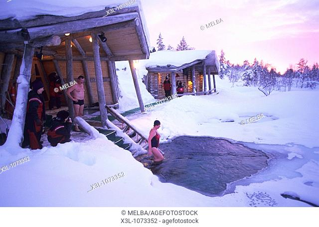 Spa in Lapland Finland