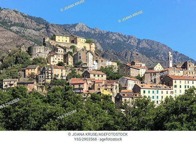 Corte, Haute-Corse, Corsica, France