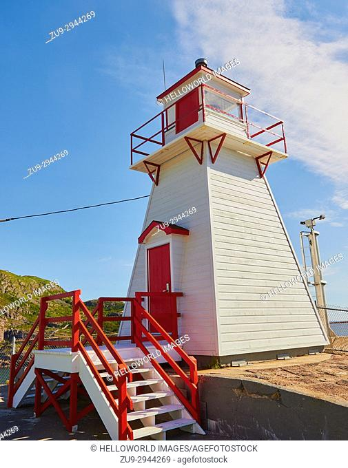 Fort Amherst Lighthouse, St John's Newfoundland, Canada