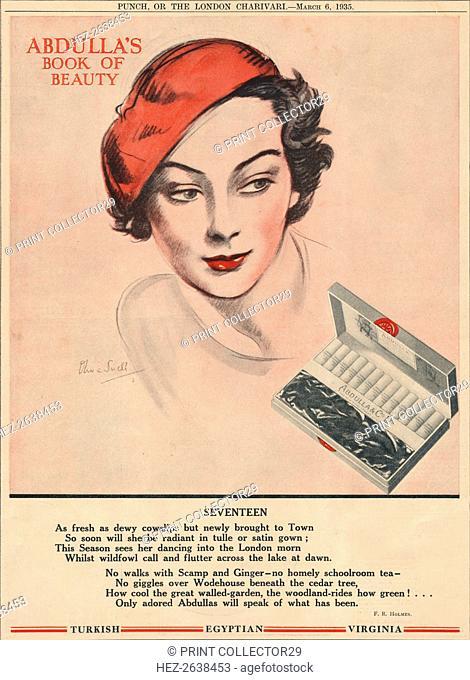 'Abdulla's Book for Beauty - Seventeen', 1935. Artist: Unknown