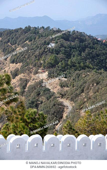Landscape at Kasauli, Himachal Pradesh, India, Asia
