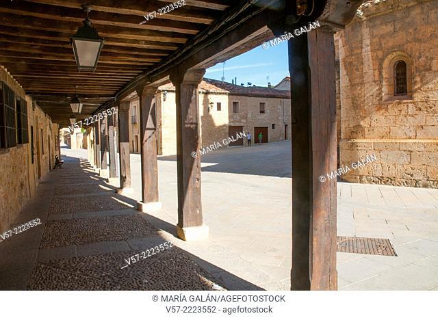 Street. Burgo de Osma, Soria province, Castilla Leon, Spain