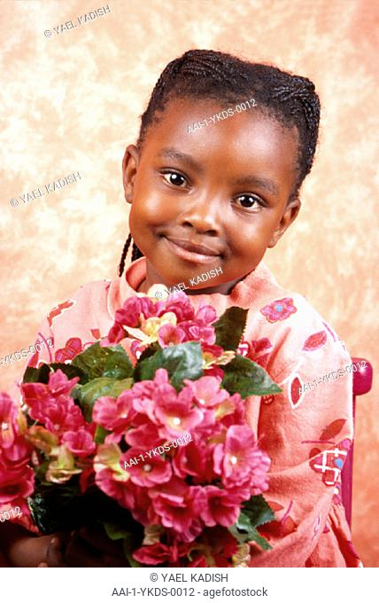 Young girl, South Africa