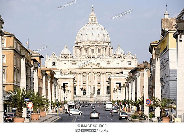 St Peter's, Vatican City, Rome, Italy