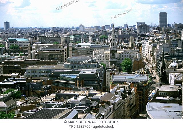 London skyline from St Paul s Cathedral