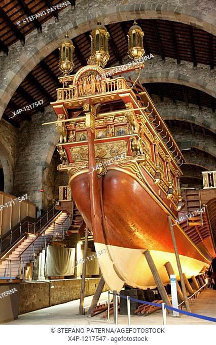 Museu Maritim de Barcelona, Maritime Museum of Barcelona, Spain