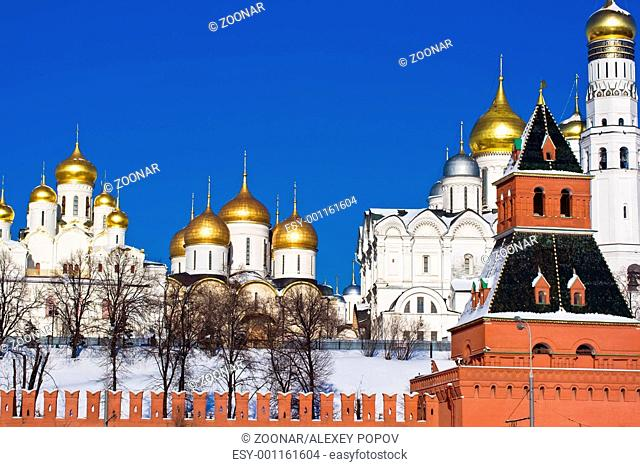 Moscow Kremlin and Churches