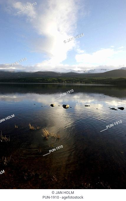 View of Loch Morlich in the Cairngorms