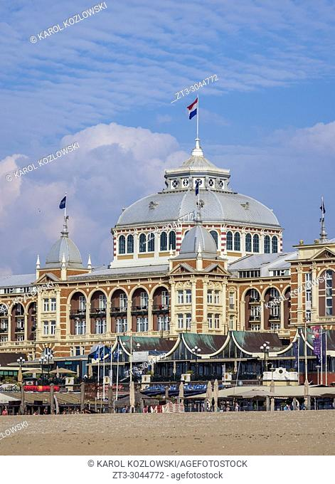 Kurhaus of Scheveningen, The Hague, South Holland, The Netherlands