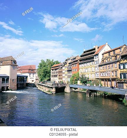Petite France. Strasbourg. France