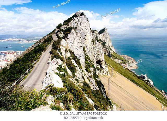 Rock of Gibraltar. UK