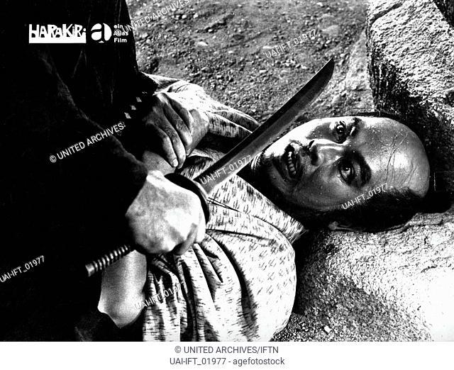 Seppuku, Japan 1962, aka: Harakiri, Regie: Masaki Kobayashi, Darsteller: Akira Ishihama