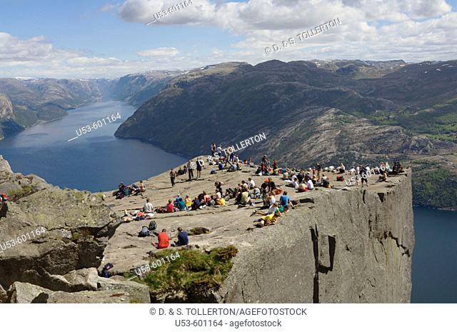 Pulpit Rock, Lysefjord, Stavanger, Norway