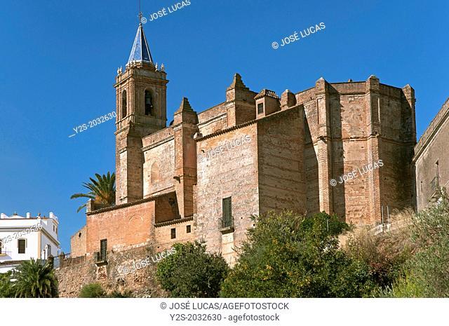 Church of La Purisima Concepcion-16th century, Zufre, Huelva-province, Region of Andalusia, Spain, Europe