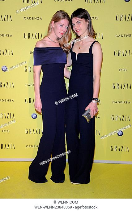 Grazia magazine Germany's Best Inspiration Award 2016 at Soho House in Mitte Featuring: Ann-Christin Haas, Carolyn Hodler Where: Berlin