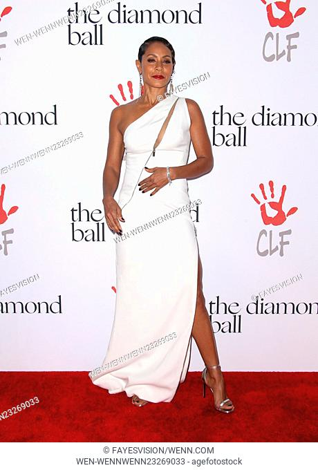 2nd Annual Diamond Ball 2015 - Red Carpet Featuring: Jada Pinkett Smith Where: Santa Monica, California, United States When: 11 Dec 2015 Credit:...