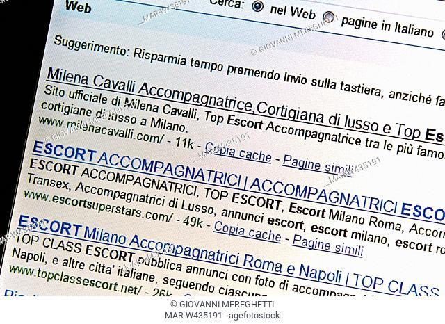 Escort italiana a milano