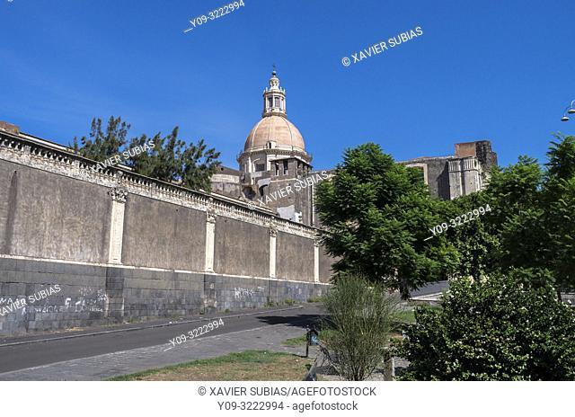 Monastery of San Nicolò l'Arena, Catania, Sicily, Italy