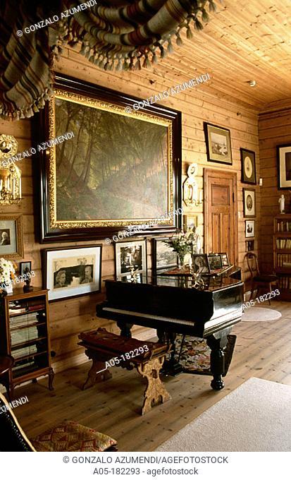 Troldhaugen, home of the composer Edvard Grieg. Bergen. Norway