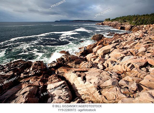 Lakies Head - Cape Breton Highlands National Park - near Ingonish, Cape Breton, Nova Scotia, Canada