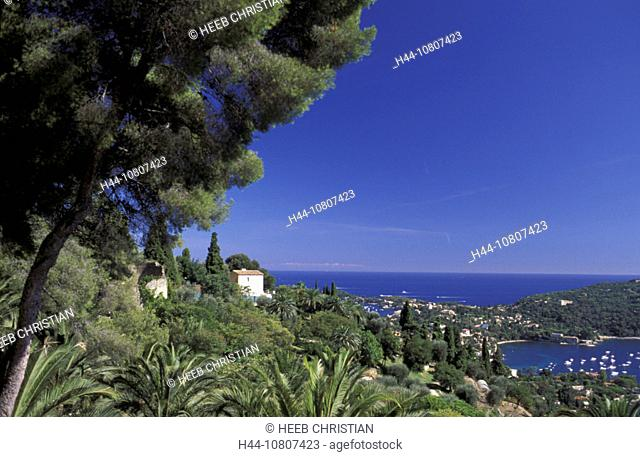 Cap Ferrat, Cape Ferrat, Color, Colour, France, Europe, Provence Alpes Cote d'Azur, St. Jean, landscape, sea, coast