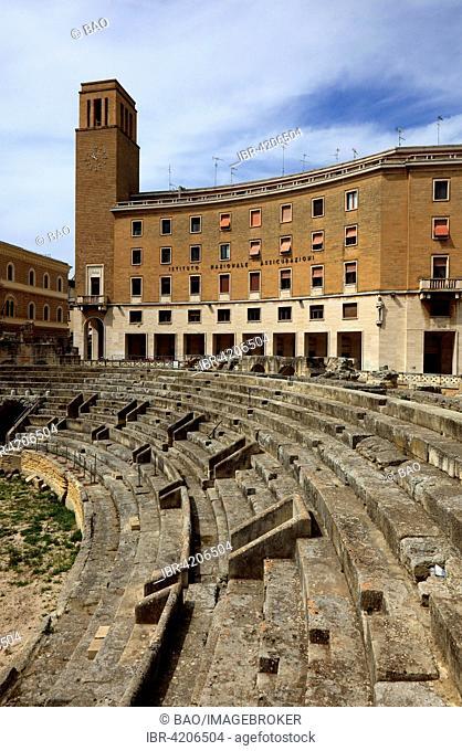 Amphitheater, Lecce, Apulia, Italy