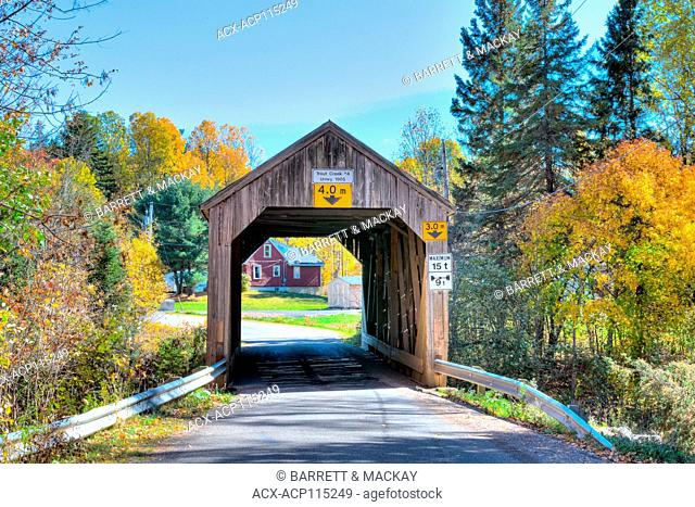 Trout Creek #4 Covered Bridge, Urney, New Brunswick, Canada
