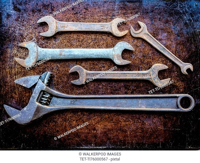 Variety of wrenches