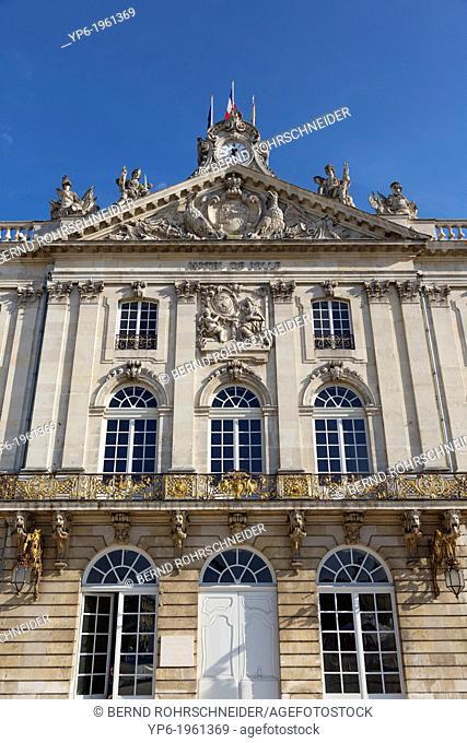 town hall, Nancy, Meurthe-et-Moselle, France