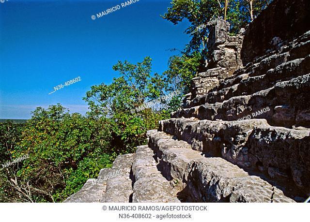 Cobá. Quintana Roo, Mexico