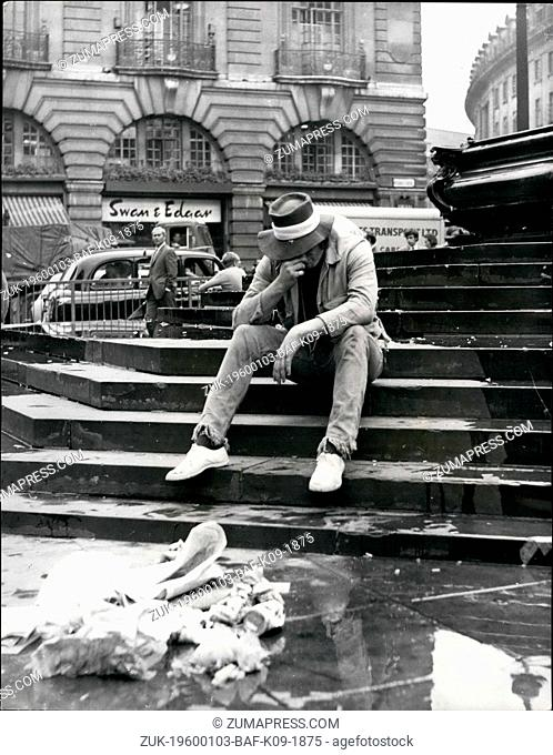 Feb. 24, 1972 - Is London Economy Shameful? Picadilly Green Park Leicester Square Places for Londoners to be proud of or to be of