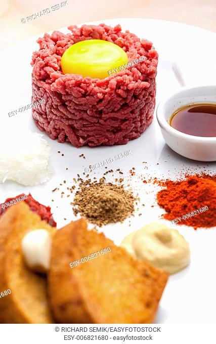 sirloin steak tartare
