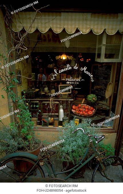marie, vintage, lassiette, restaurant, window, shopping