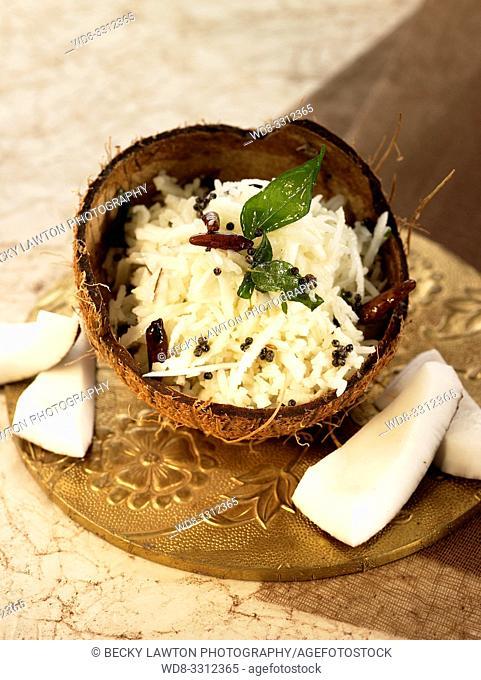 arroz con coco-thengai saadham