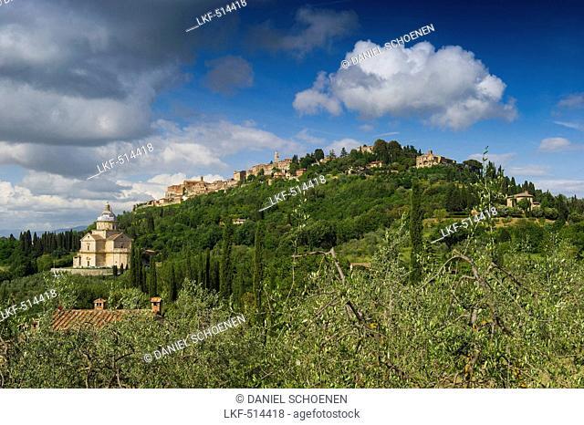 Madonna di San Biagio, Montepulciano, province of Siena, Tuscany, Italy
