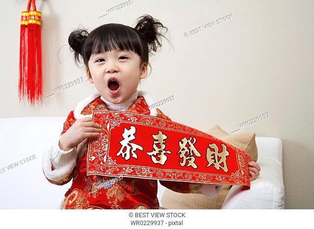 Children celebrating festival