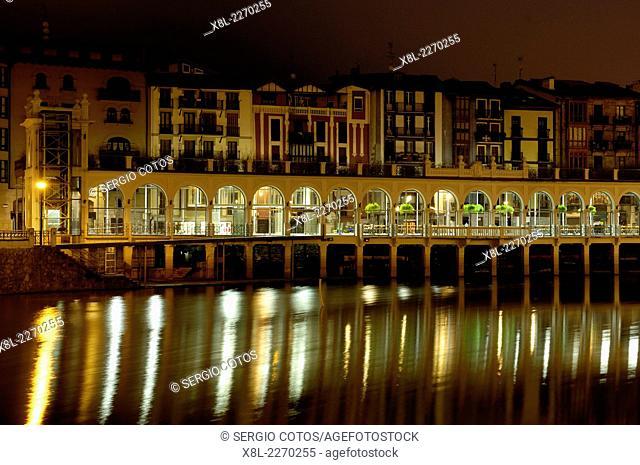 River Oria, Tolosa, Guipuzcoa, Basque Country, Spain