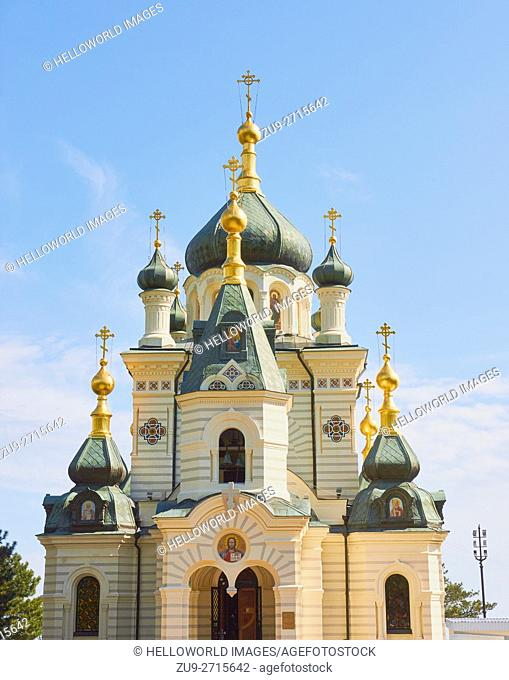 Church of Christ's Resurrection, Foros, Crimean peninsula