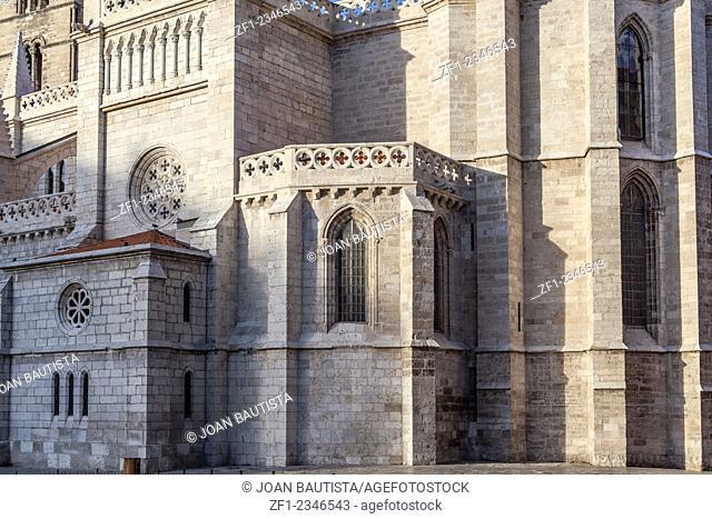 Church Santa María la Antigua,Valladolid,Castilla y Leon,Spain