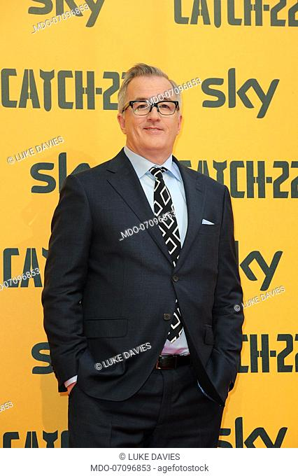 Australian scriptwriter Luke Davies attends the premiere of the Sky TV serie Catch-22. Rome (Italy), May 13th, 2019
