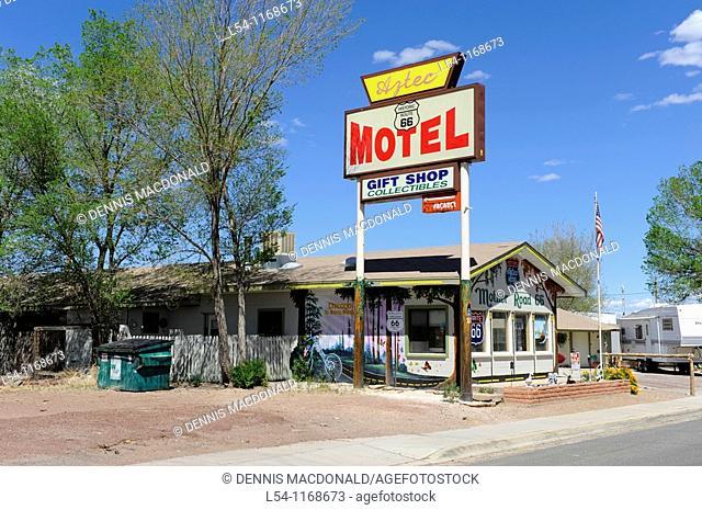Aztec Motel Seligman Arizona Route 66