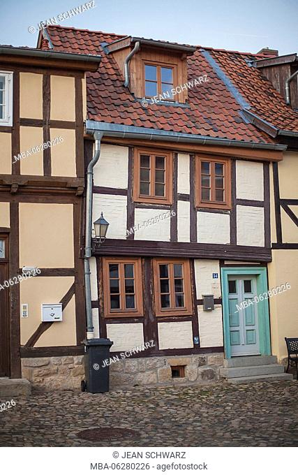 sunken house on Münzberg in Quedlinburg