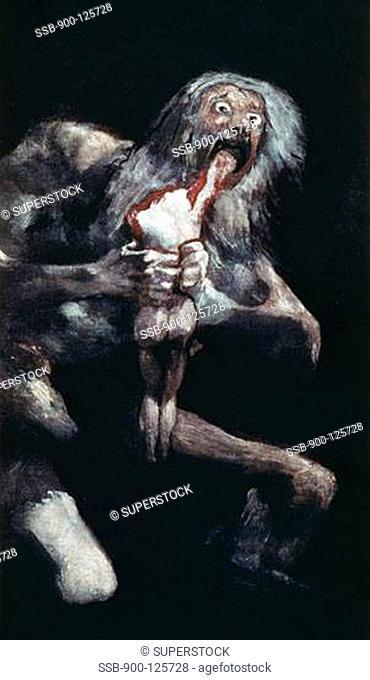 francisco goya saturn devouring his son