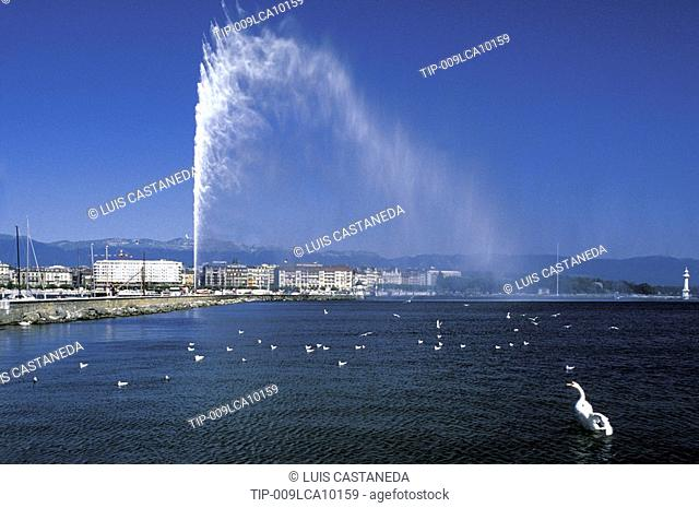 Switzerland, Geneva - Jet d'Eau