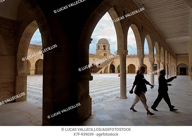 Tunez: Sousse Courtyard of the Great Mosque