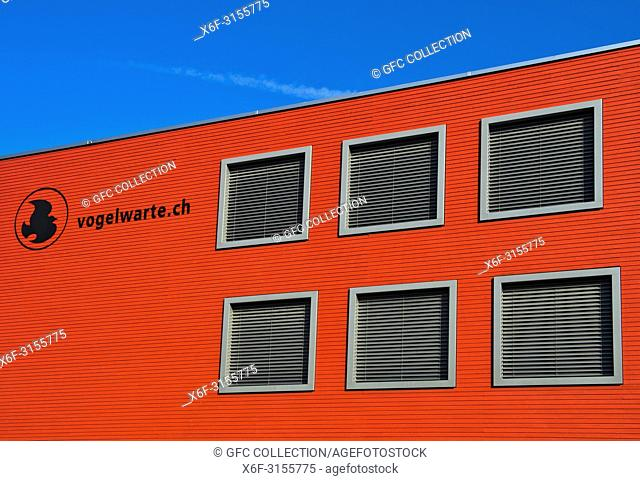Headquarters, Swiss Ornithological Institute, Sempach, Switzerland