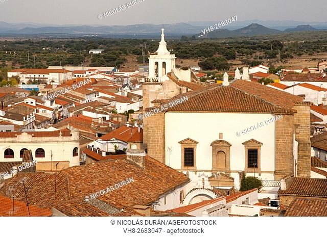 Church of San Mateo, 16-17th century. Alburquerque. Province of Badajoz. Extremadura. Spain