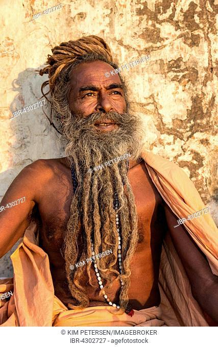 Sadhu, holy man, Khania-Balaji, Jaipur, Rajasthan, India
