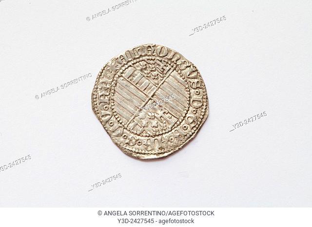 Naples Kingdom, Carlino, Ancient Coin