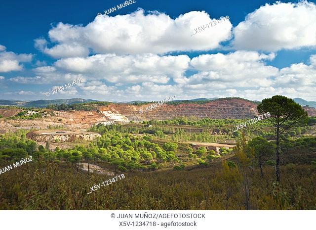 Riotinto mines, Huelva province, Andalusia, Spain